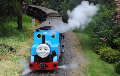 Thomas the Tank Engine will steam through the Hills this October.  124451