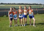 Casey Little Athletics Club runners Bailey Morrell, Charlie Rogers, Adele Hanley, Genevieve Watson and Brodie Ellis raced at Sandown. 98954
