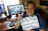 Pakenham film-maker Glenn Triggs will soon shoot the trailer for 'The Comet Kids.' 139045_03 Picture: STEWART CHAMBERS