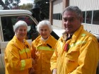 UPPER Beaconsfield CFA captain Graeme MacGowan with Wendy Thomson and Nancy Boura are hoping to welcome new members to the brigade.  They laughingly described themselves as the 'geriatric brigade' but they are deadly serious when it comes to protecting their community from fire.