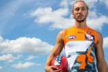 Former Pakenham student and current Greater Western Sydney Giants footy player Matt Buntine is the 2015 Cleo Bachelor of the Year. Picture: GWS GIANTS