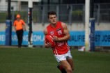 Tom Papley booted five goals as the Gippsland Power's best player in the side's TAC Cup elimination final loss to eventual premiers, the Oakleigh Chargers.  144002  Picture: JARROD POTTER