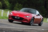 Brilliant Mazda MX-5 roadster has neat new look.