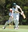 Tyler Clark had a field day against Devon Meadows to earn his maiden WGCA century. 149893 Pictures: JARROD POTTER