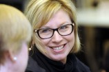 Rosie Batty said victims must turn to support networks for help to survive a violent relationship. 157767 Picture: STEWART CHAMBERS