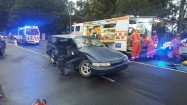 SES crews turned out to get the 20-year-old P-plater out of the wreckage.