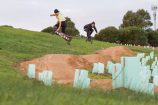 Mountainboarding is derived from snowboarding but is suitable on practically any surface. Picture: SUPPLIED