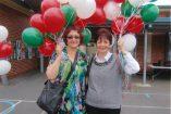 Sisters Nella Bertuna and Emma Di Pietro enjoy the St Sofia Festival in Kooweerup.