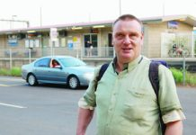 Brent Franklin was left at Pakenham Station late at night after his taxi recorded him as a 'no-show'.
